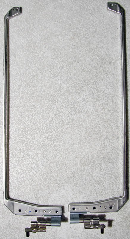 "COMPAQ R3000 SERIES 15.4"" LCD SCREEN HINGES SET L & R"