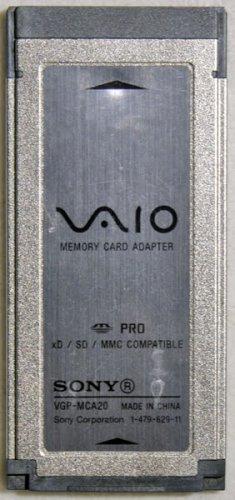 SONY XD SD MMC MEMORY CARD READY 1-479-629-11 VGP-MCA20