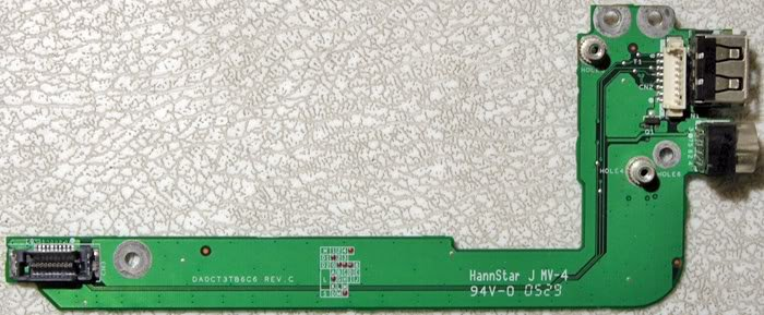 HP DV1000 COMPAQ M2000 V2000 USB S-VIDEO DA0CT3TB6C6
