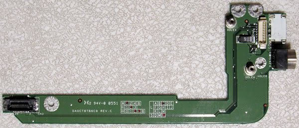 OEM HP COMPAQ L2000 V2000 S VIDEO OUT BOARD DA0CT8TB6C9