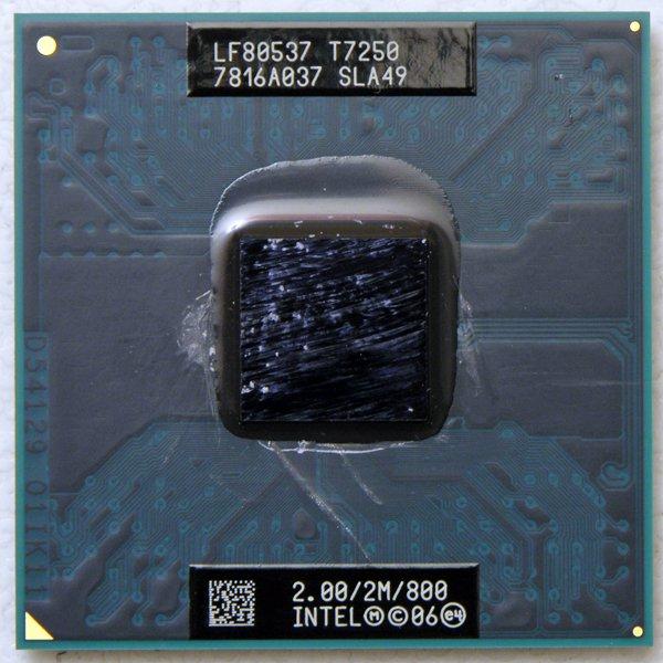DELL VOSTRO 1400 INTEL CORE 2 DUO 2.0GHz T7250 LAPTOP CPU SLA49 2MB 800MHz