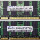 """SAMSUNG OEM APPLE MACBOOK PRO 13"""" 15"""" 17"""" 4GB (2x2GB) RAM PC2-5300S M470T5663QZ3"""