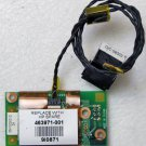 HP DV2000 COMPAQ V3000 PCI MODEM CARD w/ CABLE & RJ11 JACK 463971-001 06223