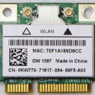 DELL INSPIRON 1545 E6500 E6505 MINI WIRLESS B/G WIFI CARD DW1397 KW770 0KW770 COOLCOOL88