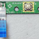 DELL INSPIRON 1545 POWER SWITCH ON/OFF BOARD 50.4AQ06.101 w/ CABLE