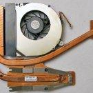 HP COMPAQ 8510P 8510W CPU HEATSINK & COOLING FAN 452199 452227 UDQFRZR07C1N