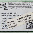 HP COMPAQ 8510 8510P 8510W INTEL PCI A/B/G WIFI WIRELESS CARD 441082 / 4965AG