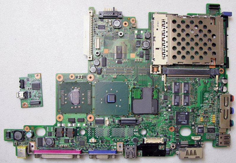 IBM THINKPAD X31 X32 MOTHERBOARD w/ INTEL 1.6GHz CPU SL7F2 39T0420 39T0402 WORKS