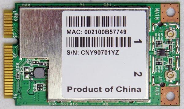 IBM LENOVO IDEAPAD S10 WIFI WIRELESS CARD BCM94312MCGSG WMIN-271G QDS-BRCM1028