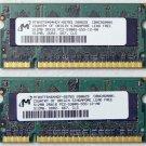"""OEM MAC APPLE MACBOOK PRO 13"""" 15"""" 17"""" 1GB (2x 512MB) RAM PC2-5300S MT8HTF646HDY"""