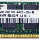 TOSHIBA SATELLITE U505 2GB LAPTOP RAM MEMORY PC2-6400S HYMP125S64CP8 H000016430
