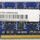 HP MINI 110 RAM 616749-001 HPMJ-463405-344 1GB PC2-6400S-666-12 HMP112S6NFR8C-S6