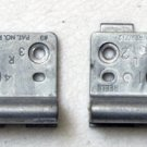 """DELL XPS M1710 INSPIRON 9400 M90 M6300 E1705 17"""" LCD HINGES SET LEFT & RIGHT"""