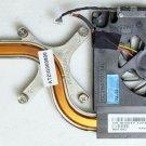 DELL XPS M1710 OEM CPU COOLING FAN & HEATSINK CK047 0CK047 MCF-J01BM050-2
