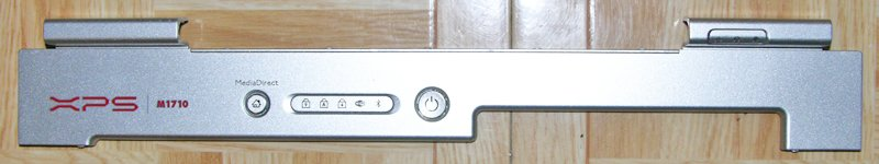 OEM DELL XPS M1710 POWER BUTTON / HINGE COVER CF428 0CF426 F1.07.05.16.1-14 # A