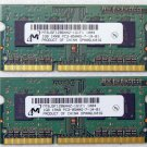 "OEM MAC APPLE MACBOOK PRO 13"" 15"" 17"" 2GB (2x1GB) RAM PC3-8500S MT8JSF1286HZ"