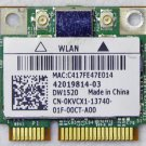OEM DELL INSPIRON 1564 1558 1764 PCI HALF WIFI WIRELESS KVCX1 0KVCX1 802.11a/b/g