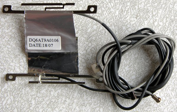 HP PAVILION DV9000 DV9500 DV9700 PCI WIFI WIRELESS ANTENNA CABLES DQ6AT9A0106