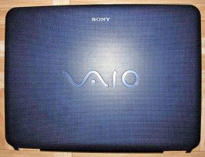 OEM SONY VAIO VGN-NS NS110E NS140E BLUE LCD BACK COVER 4-114-958 013-200A-8956-A