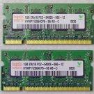 SONY VAIO VGN-NS110E NS140 NS240E 2GB (1GBx2) PC2-6400S-666  LAPTOP RAM / MEMORY