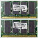 OEM HP PAVILION TC1000 512MB (2X256MB) RAM PC2700 DDR 348345-001 HYS64D32030HDL