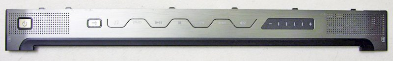 GATEWAY M SERIES SA1 SA6 POWER BUTTON HINGE COVER w/ AUDIO CONTROL EBSA1008010