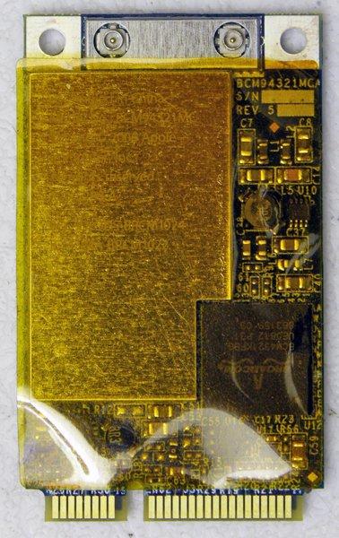 """GENUINE OEM APPLE MACBOOK PRO 15.4"""" A1260 PCI WIFI CARD 020-5280-A 607-2052-A"""