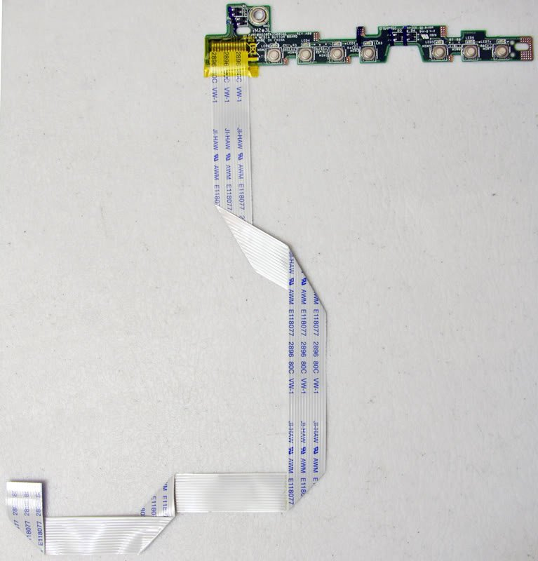 OEM DELL INSPIRON 1420 1421 VOSTRO 1400 MEDIA BUTTON SWITCH BOARD 08G20EA3500GDE