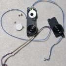 "GENUINE OEM APPLE MAC iBOOK G4 12"" INCH SPEAKERS & POWER SWITCH"