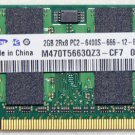 GENUINE OEM DELL INSPIRON 1110 11Z 2GB PC2-6400S MEMORY RAM M470T5663QZ3