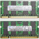 "OEM MAC APPLE MACBOOK PRO 13"" 15"" 17"" 2GB (2x 1GB) RAM PC2-5300S M470T2953EZ3"