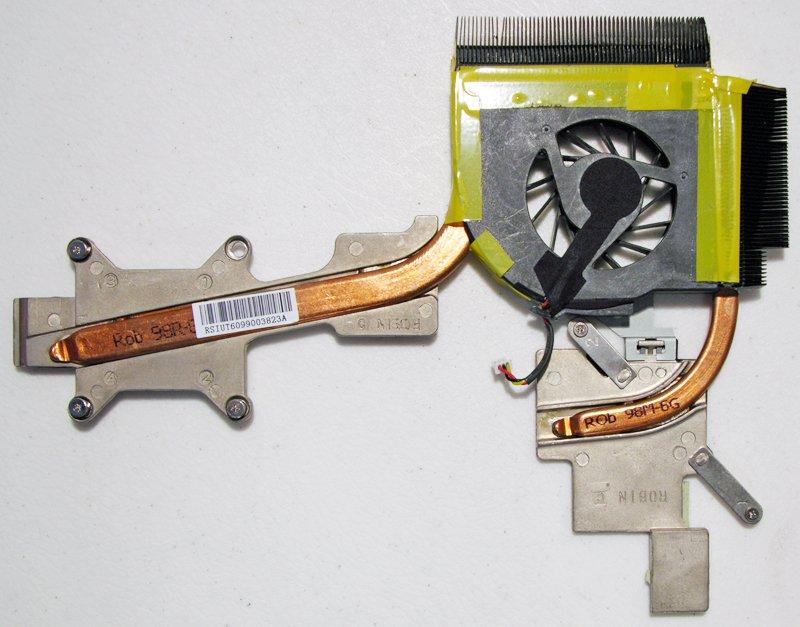 OEM HP HDX 16 X16 X16T CPU HEATSINK & COOLING FAN 496488-001 RSIUT6099003823A