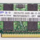 OEM SAMSUNG HP PAVILION DV5 DV5-1233SE 2GB PC2-6400S RAM MEMORY M470T5663QZ3