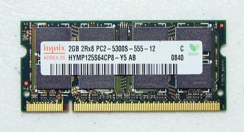 OEM HP PAVILION DV2000 DV6000 DV9000 2GB LAPTOP RAM PC2-5300S HYMP125S64CP9-Y5