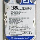 OEM TOSHIBA SATELLITE A305 160GB 5400RPM WD1600BEVS WD SCORPIO BLUE V000123000