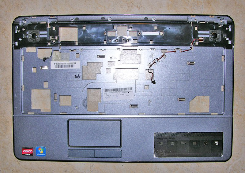 OEM  ACER ASPIRE 5517 5516 PALMREST MOUSE / TOUCHPAD w/ SPEAKERS AP06S000200