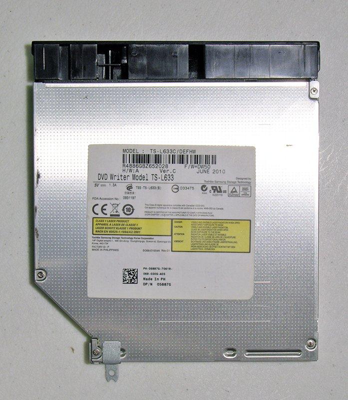 GENUINE DELL INSPIRON 15R N5010 N7010 SATA DVD-/+RW MULTI BURNER  DRIVE TS-L633
