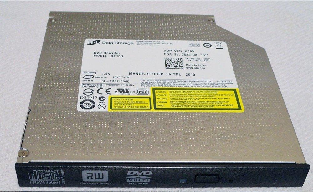 GENUINE OEM Dell Inspiron 1750 CD-RW DVD+RW Burner Drive GT10N 00HV6