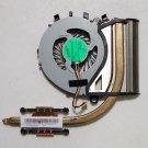 OEM SONY VIAO SVF14213CXB FLIP CPU HEATSINK & FAN AB07405HX080300 3VHK8TMN030