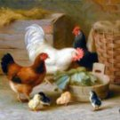 Farmyard Friends Oil Painting on Canvas (22232518973)