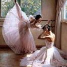Ballet Rehearsal  Oil Painting on Canvas  (22232350918)