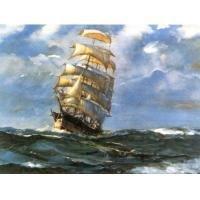 High Seas Oil Painting on Canvas  (g66078737ttps)