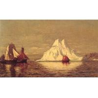 Iceberg  Oil Painting on Canvas  Awe Inspiring (g66112440ttps)