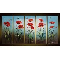 Floral  Oil Painting Large Oil Painting on Canvas Bright Field of Flowers(g66113963ttps)