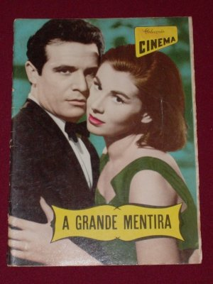 La gran mentira Movie Memorabilia Collection 1950's