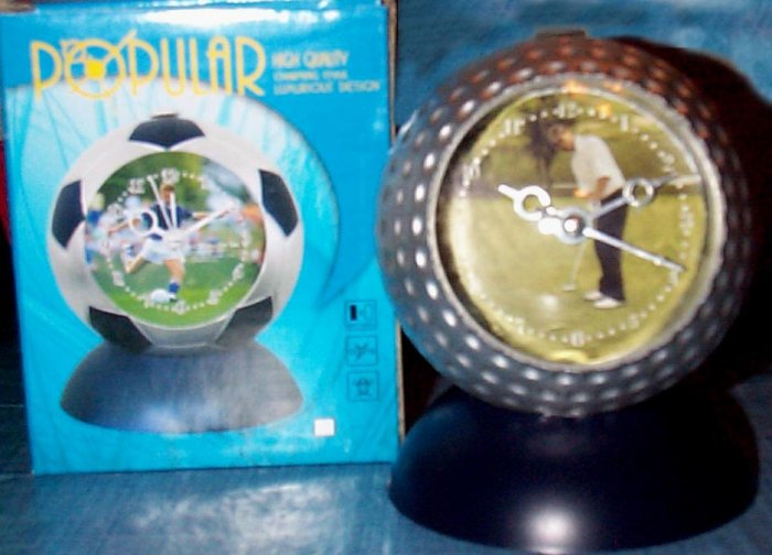 Golf Ball Alarm Clock - Travel, Kids Room