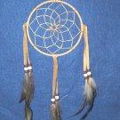 "Dreamcatcher 5"" Authentic Native American Navajo TAN #701"