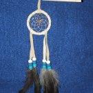 """Dreamcatcher Native American Indian Navajo 2"""" hoop CREAM #430"""