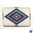 Belt Buckle Beaded Authentic Native American Indian made NEW #01