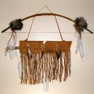 Bow & Arrow with Quiver combo Native American Artifact Wall Display Navajo #CB02